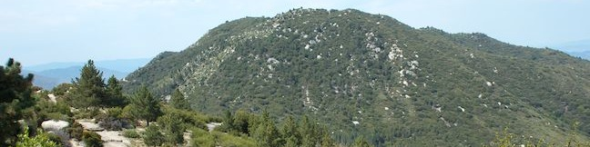 Indian Mountain hike San Bernardino National Forest San Jacinto Mountains Trail California