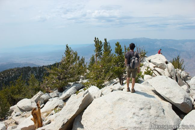 San Jacinto Peak via Marion Mountain Trail in the San Jacinto Mountains
