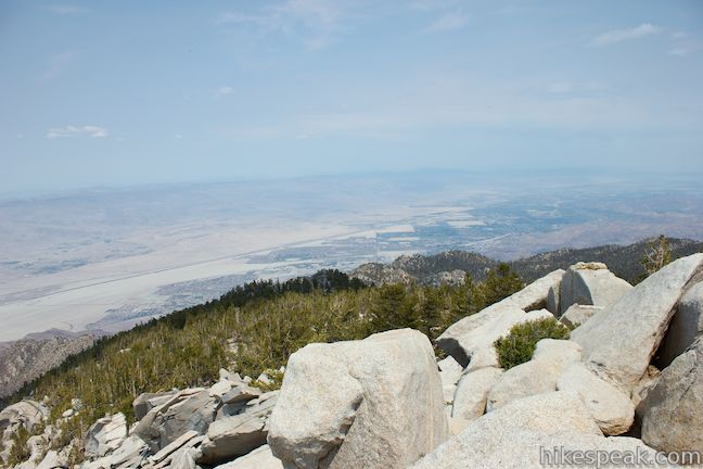 San Jacinto Peak view Coachella Valley