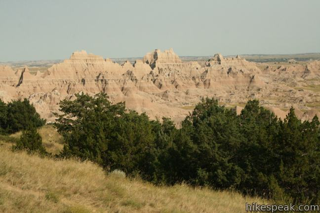 Badlands National Park Cliff Shelf Nature Trail