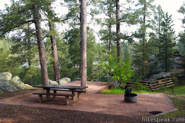 Bismarck Lake Campground in Black Hills National Forest