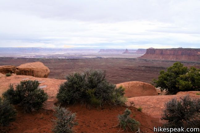 Canyonlands Grand View Point Trail