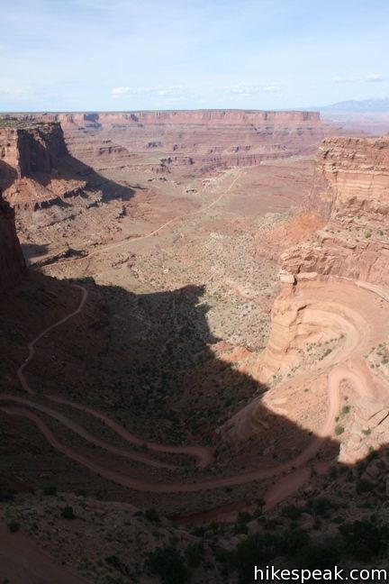 Shafer Canyon Overlook Canyonlands