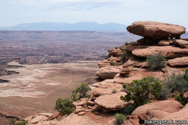 Canyonlands White Rim Overlook Trail