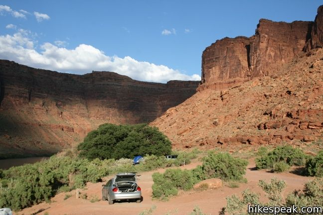 BLM Campgrounds in Moab, Utah