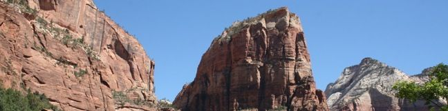 Angels Landing Zion hike Zion National Park Trail