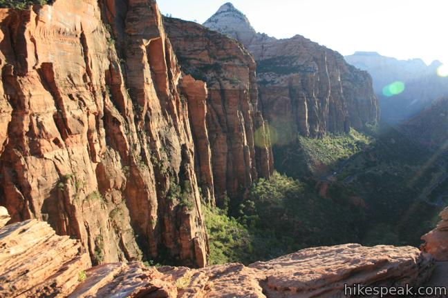 Canyon Overlook Trail Zion National Park Hikespeak Com