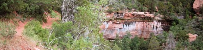 Emerald Pools Zion National Park hike Zion Canyon Utah