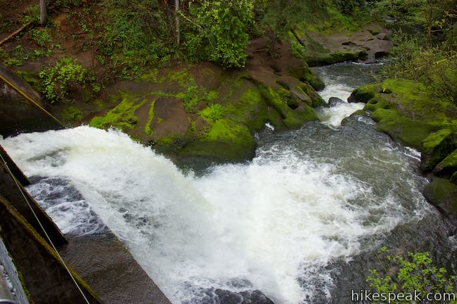 Round Lake Dam Spillway