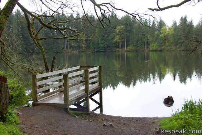 Round Lake Viewing Dock