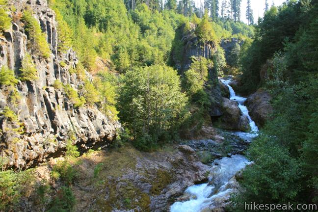 This 1.25-mile loop explores a colorful canyon re-carved by the 1980 eruption of Mount Saint Helens.