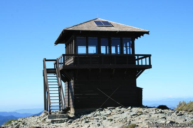 Mount Fremont Lookout in Mount Rainier National Park