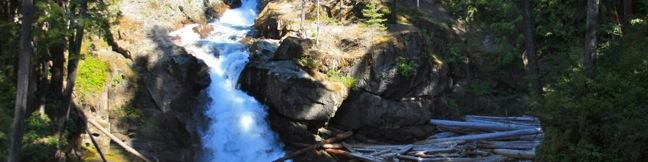 Silver Falls Trail Mount Rainier Washington Hikespeakcom