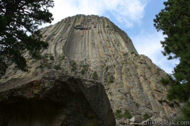 Devils Tower Wy >> Tower Trail | Devils Tower National Monument | Hikespeak.com