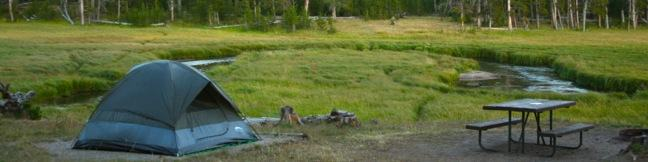 Yellowstone National Park Campgrounds camping information camp