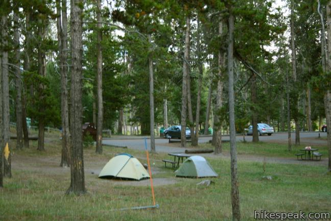 Yellowstone National Park Rv Parks >> Yellowstone National Park Campgrounds Hikespeak Com