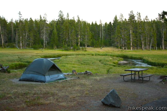 Yellowstone National Park Norris Campground