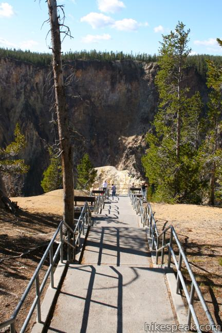 Inspiration Point Grand Canyon Of The Yellowstone