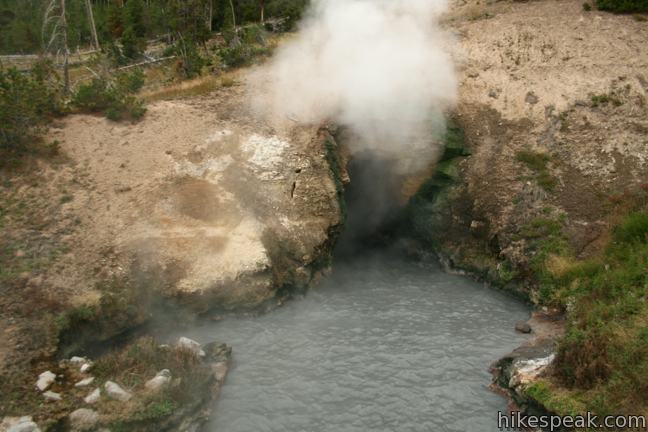 Dragon's Mouth Spring Yellowstone