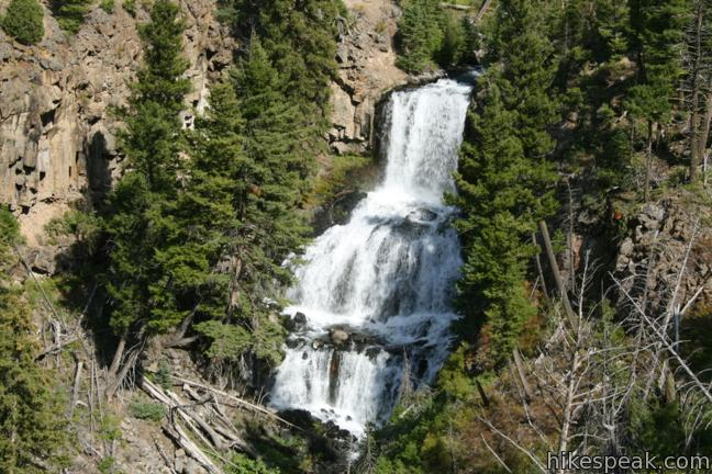 Undine Falls Yellowstone