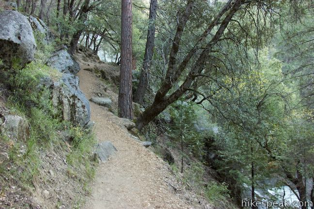 Chilnualna Falls Trail Yosemite Hikespeakcom