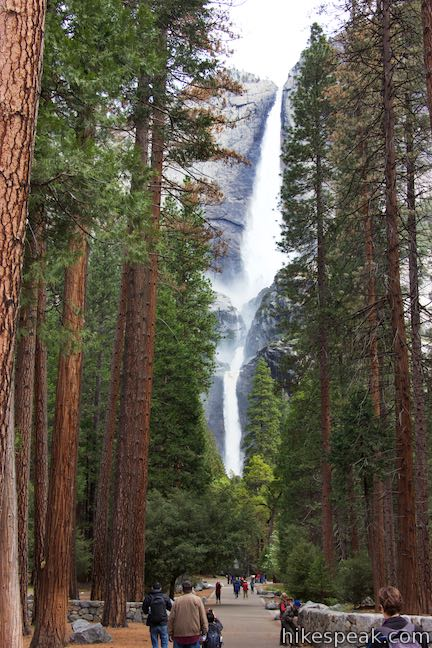 Lower Yosemite Fall Trail