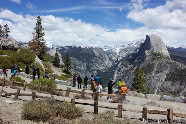 Glacier Point Yosemite National Park Hikespeakcom