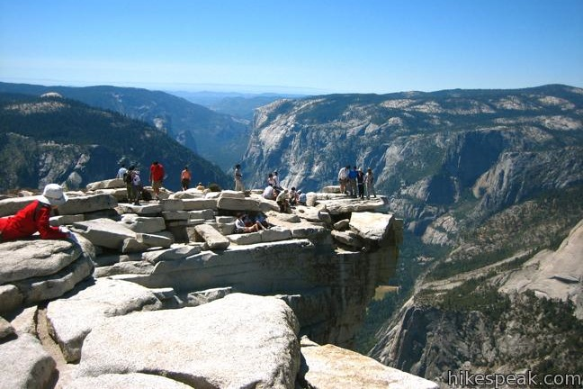 This epic 16-mile hike climbs from Yosemite Valley to the top of the most iconic crest in Yosemite National Park.