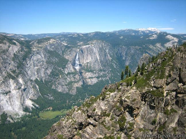 Taft Point view of Yosemite Fall