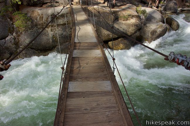 Wawona Swinging Bridge Yosemite