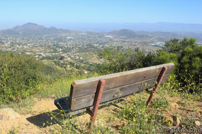 This overlook on the north side of the Santa Monica Mountains has views across the Conejo Valley and can be reached via 4-mile and 7.6-mile hikes.