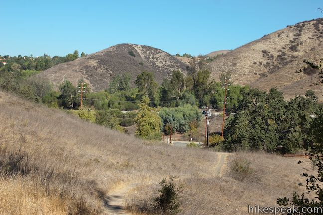 Anza Loop Trail Hike Calabasas Road