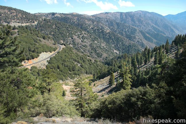 Mount Baden-Powell Trail Mine Gulch