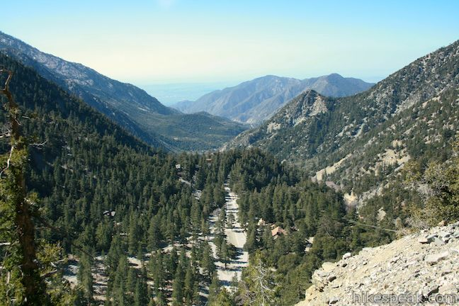 Manker Flats Campground in the San Gabriel Mountains