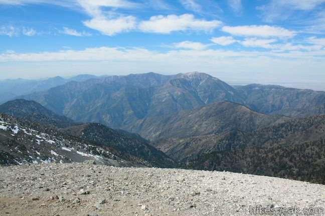 Mount Baldy Loop Los Angeles Hikespeak Com