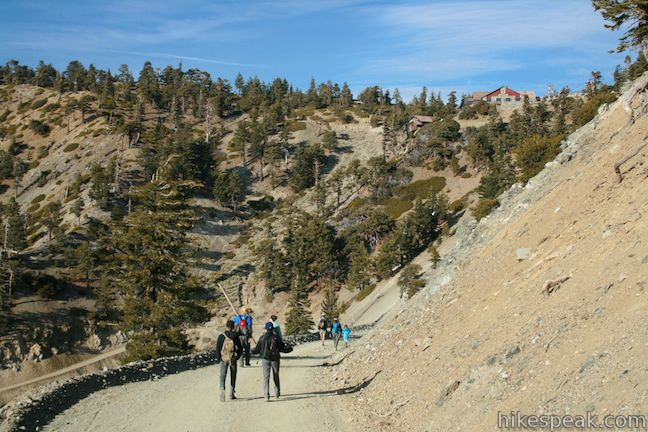 Baldy Notch in the San Gabriel Mountains