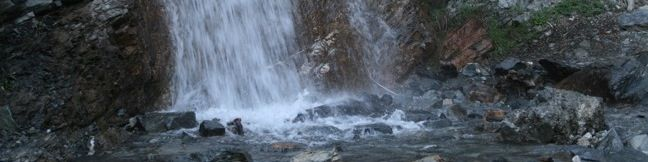 San Antonio Falls beneath Mount Baldy San gabriel Mountains Waterfall hike