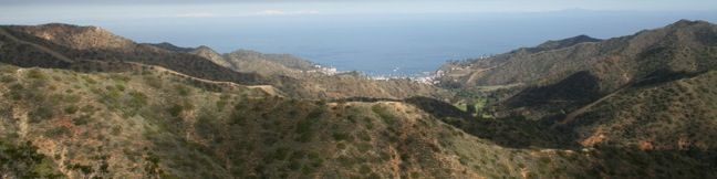Catalina Island Avalon Hike Hermit Gulch Trail - Trans-Catalina Trail Loop California
