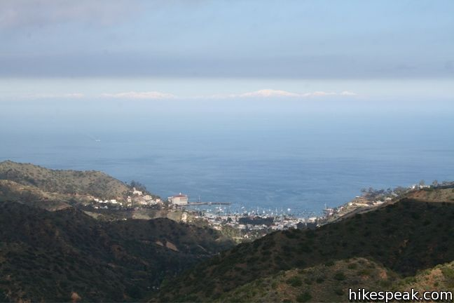 This 11.7-mile loop circles the ridges around Avalon, offering amazing views of the interiors of Catalina Island and the ocean beyond.