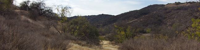 Corbin Canyon Trail Santa Monica Mountains hike Tarzana California Corbin Canyon Park Hike Woodland Hills Los Angeles Topanga State Park