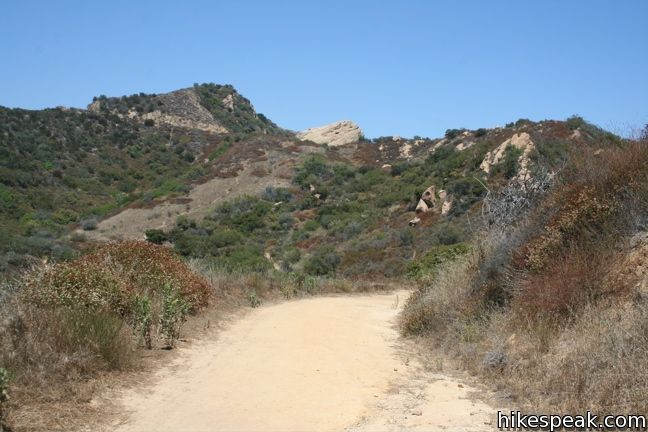 Santa Ynez Canyon Trail to Eagle Rock