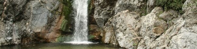 Eaton Canyon Falls Waterfall San Gabriel Mountains Eaton Canyon Nature Area Pasadena Altadena Eaton Canyon Park