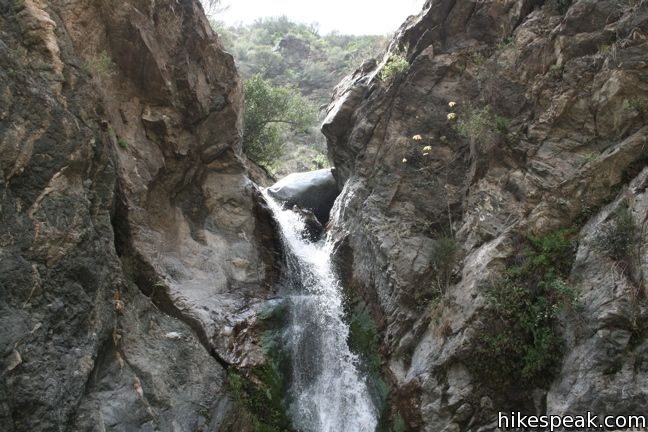 Eaton Canyon Falls Trail Los Angeles Hikespeak Com