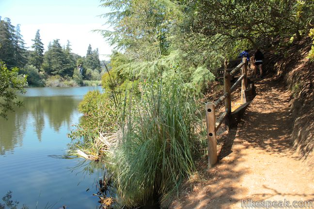 Franklin Canyon Lake Trail