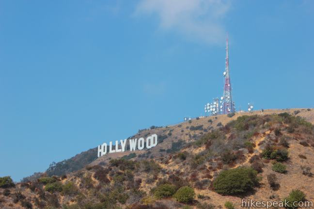 Hollyridge Trail to Mount Lee and the Hollywood Sign in Griffith Park