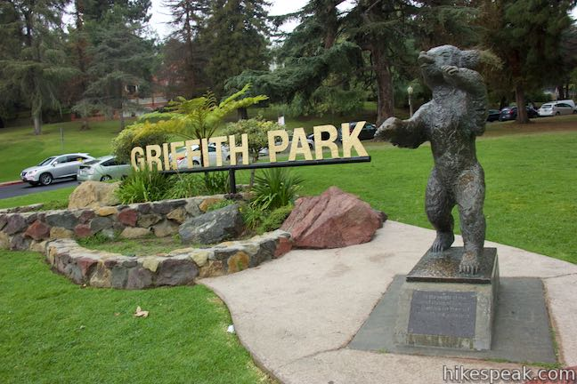 Griffith Park Bear Cub Statue