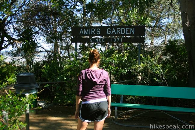 Amir's Garden in Griffith Park