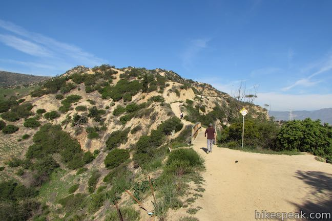Glendale Peak Trail Griffith Park