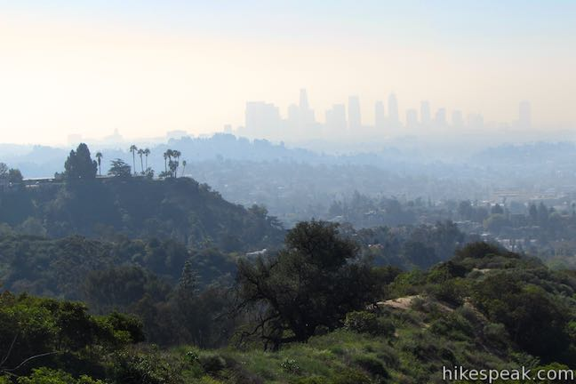 Los Angeles View Griffith Park