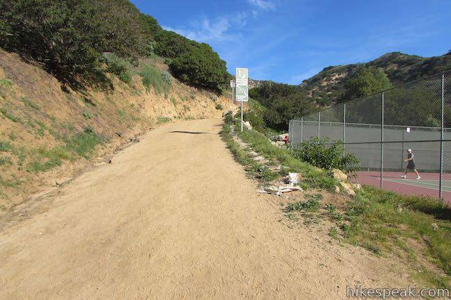 Griffith Park Hike Vermont Canyon Tennis Complex